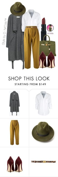 """Untitled #2836"" by stylebydnicole ❤ liked on Polyvore featuring NARS Cosmetics, Hermès, Zara, Frank & Eileen, Yves Saint Laurent, Penmayne of London, Miu Miu and Dolce&Gabbana"