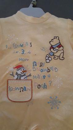 09fbdb4e7f245 Pyjama Disney baby 1 mois mixte - Magnifique petite grenouillère jaune  Winnie l ourson Mixte