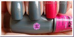 esmalte nacional cinza super Impala color force e puro glamour colorama SAM_3773  #nailpolish #esmaltesempre