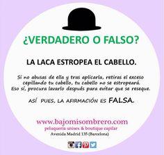❤️ #laca #cabello #hair #consell #consejo #truco #verdadofalso #verdad #falso #pelazo #look #barcelona #bcn #igers