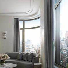 Chevron Pattern in Classica French Oak, New York residential.