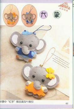 Maripê: Patterns of elephant
