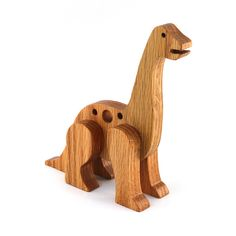 Dinosaur Nursery, Dinosaur Toys, Butcher Block Conditioner, Wooden Toy Trucks, Kids Birthday Gifts, 7th Birthday, Handmade Wooden Toys, Wood Toys, Decoration