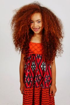 I remember being a little kid with a massive amount of hair like this hahah!