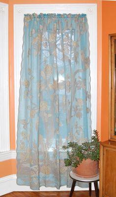 Paradiso Scottish Lace Curtains - Fine Madras
