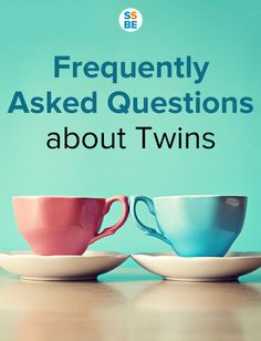 Curious about all things twins? I was clueless about when twins when I learned I was expecting them. Here are the frequently asked questions about twins: shared by www.twinsgiftcompany.co.uk