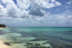 Blog Post: { Nassau, Bahamas } Seascape from the house we stayed at in the Bahamas, Travel Photo by @chrissihernandez