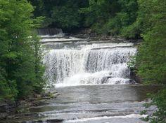 Northern New York Waterfalls ... Talcottville Falls