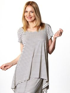 83840fb7749 Charlie Shirt by BRYN WALKER Striped Jersey