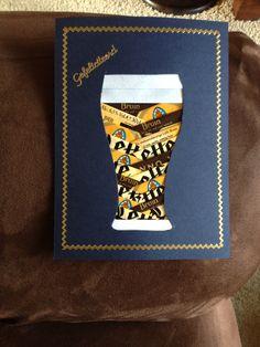 Iris folding beer bier