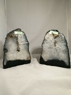 Amethyst Quartz twins pair RARE Cathedral Cave geode  · $8.00