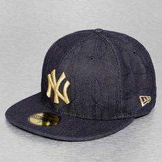 New Era Fitted Cap blue