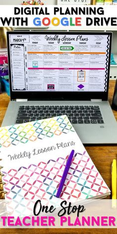 Teacher binder organization just got better! With UPDATED PLANNERS Every Single Year, this One Stop Teacher Planner has everything you need for classroom orga Google Drive, Teacher Binder Organization, Organized Teacher, Student Teaching Binder, Lesson Plan Organization, School Counselor Organization, Student Teacher, Organizing Ideas, Teacher Education