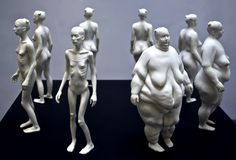 """""""Eve"""", Ted Lawson, 2011. Cast resin."""