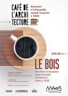 Affiche du Café de l'Architecture