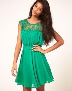 Cute green dress from ASOS