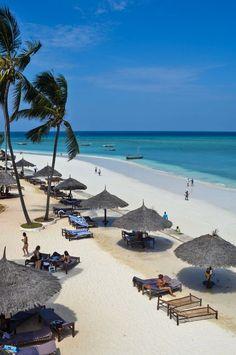Nungwi Beach, Zanzibar - Beachfront at the Doubletree Resort on one of Zanzibar's (and Africa's!) best beaches. #Zanzibar #beaches #islands #Africa