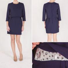 Patron de couture gratuit + concours : robe La Parisienne par Louis Antoinette