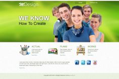 MDesign - Like this design? Have it customized with your logo and content! - JoomlaNinja.in