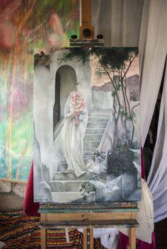 disponible para adquisicion. www.elisadelatorre.com Copia de La maison de la vierge.