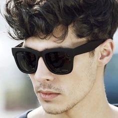 oculos de sol masculino quadrado preto