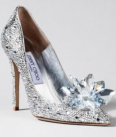 Jimmy Choo Cinderella Pumps SS2015: Available: -Saks Fifth Avenue, New York -Saks Fifth Avenue, Beverly Hills -Harrods, London -Galeries Lafayette, Paris -Excelsior Milano, Milan