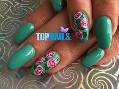 Acrylic Nails With Permanent Enamel by @topnailschile via @nailartgallery #nailartgallery #nailart #nails #nailsart #acrylicnails #gelpolish #nailspolish #nailswang #nailsdesing #nailstyle