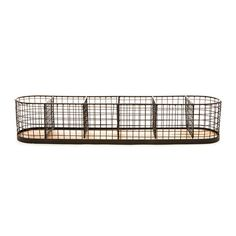 """6 Section Wire Basket, 28"""""""