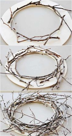 large Christmas decorations to make yourself - set Nordic accents - Weihnachten. - large Christmas decorations to make yourself – set Nordic accents – Weihnachten – # - Large Christmas Decorations, Rustic Christmas, Christmas Diy, Christmas Wreaths, Christmas Ornaments, Christmas Branches, Easter Wreaths, Diy Wreath, Grapevine Wreath