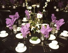 Simply adore black and lavender