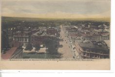 Bird's-Eye View of Binghamton,New York from Security-Mutual Building UDB