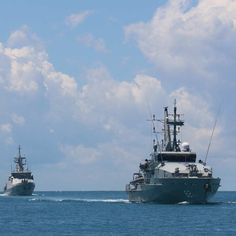 Indonesian, Australian warships train together for Exercise Cassowary. #navy #legacy