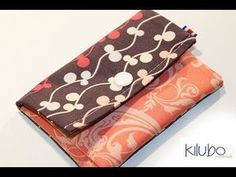 mi monedero DIY - YouTube Diy Purse, Purse Wallet, Pouch, Sewing Tutorials, Sewing Projects, Clutch Pattern, How To Make Purses, Crochet Purses, Handmade Bags