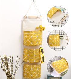 Wall Door Hanging Storage Bags Organizer Toys Container Pouch Pockets Basket in Home & Garden, Household Supplies & Cleaning, Home Organization, Storage Boxes Wall Hanging Storage, Hanging Organizer, Toy Containers, Sunglasses Organizer, Bag Rack, Underwear Storage, Jewelry Closet, Jewelry Storage, Pocket Organizer