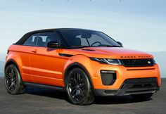 The Range Rover Evoque Convertible 2016 is a promise made true by Land Rover through its concept cabriolet back in So how good is this topless SUV? Range Rover Evoque Red, Range Evoque, Red Range Rover, Range Rover Car, Land Rovers, New Land Rover, Automobile, Range Rover Supercharged, Ford Puma