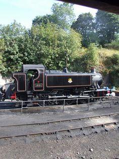 Severn Valley Railway GWR '1500' tank 1501 at Bewdley, Severn Valley Railway (22/09/2012) | Flickr - Photo Sharing!