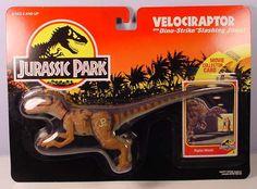 JURASSIC PARK RAPTOR TOYS   Velociraptor