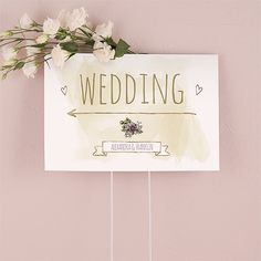 Natural Charm Directional Sign