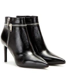 Saint Laurent - Paris leather ankle boots - mytheresa.com