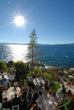 Beautiful wedding in Tahoe I could not have asked for better weather!