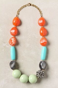 bright chunky necklace