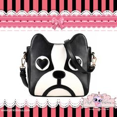 DOG IN LOVE SLING BAG Price: ₱ 650  Product Link: http://pinkbisous.com/index.php?route=product%2Fproduct&path=62_74&product_id=179  XOXO ~ Pink Bisous (=^-^=) Website: www.PinkBisous.com   Add us on Facebook for more updates and latest promotions - http://www.facebook.com/pinky.bisous  Fill up our inbox, we like that  Questions related E-mail: info@pinkbisous.com Sales related E-mail: sales@pinkbisous.com