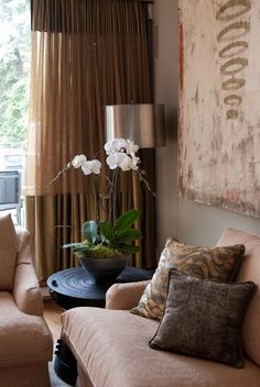 interior by Julie Molnar  pillows by Zonda Nellis  photo Heather Ross