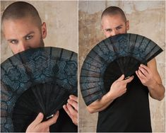 Star Wars Hand Fan and Jedi Folding hand fans with Sacred Geometry Cyberpunk Gothic Wedding Gift for Him Jedi Outfit, Goth Outfit, Assassins Creed, Cyberpunk, Dark Mori, Michaela, Hand Fans, Self Design, Foto Art