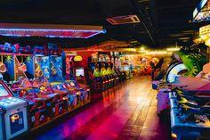 Top 5 Must-Play Immersive Arcade Games at Resorts World . Alien Aesthetic, Night Aesthetic, Retro Aesthetic, Aesthetic Letters, Aesthetic Black, Night Window, Arcade Room, Summer Bucket, Image House