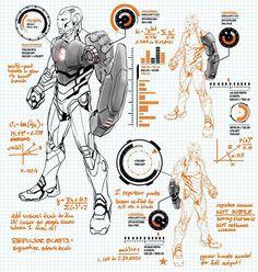 Ironman Modular Suit by Carlo Paguyan [ Marvel Now: Iron Man ]