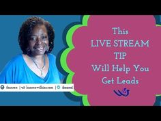 This LIVE STREAM Tip will help you get more leads  and create a Successful Business on FACEBOOK LIVE and other LIVE STREAM Platforms. Get All 9 Tips. Read the Post http://www.kaarenwilkins.com/get-leads Received Value?  Comment, Like and Share