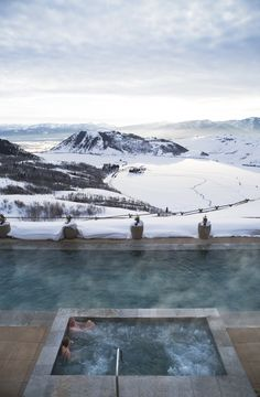 Bucket List Hotels and Resorts - Amangani Jackson Hole Whirlpool Ski Vacation, Dream Vacations, Vacation Spots, Best Ski Resorts, Hotels And Resorts, Luxury Hotels, Winter Resorts, Snow Resorts, Places To Travel