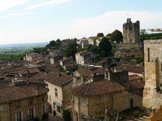Les toits de Saint-Emilion