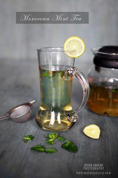 Moroccan tea set | Moroccan Mint Tea Recipe and A Beautiful Tea Set #GiveAway From ...